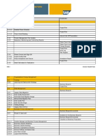 Business Blueprint Phase