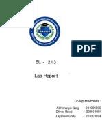 EL213 Final Lab Report