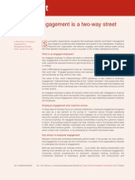Employee Engagement is a Two Way Street