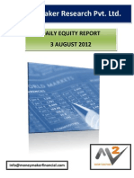 Daily Report Format 3 Aug