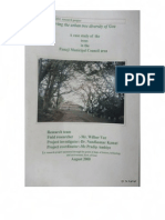 Trees of Panaji-Report for WWF by Nandkumar Kamat & Wilbur Vaz