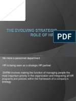 Strategic Hrm Evolution
