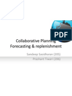 Collaborative Planning Forecasting & Replenishment