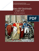 1899 LUMBROSO French General Radet arrests the Holy Father Pius VII in 1809