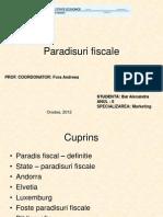 Paradisuri fiscale