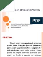 AVALIACAO NA EDUCAÇÃO INFANTIL