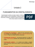 Cristalografia¹