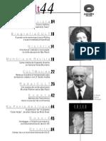 Cult 44, Heidegger, Mar de 2001