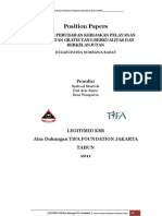 Position Paper Kesehatan Gratis di KSB
