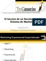 El Secreto de Un Revolucionario Sistema de Marketing