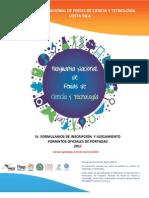Formularios Programa Nacional Ferias CYT 2012 Vf