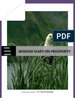 Wisdom Diary on Prosperity. Dr David Oyedepo