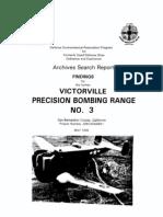 Victorville Bombing Range No. 3