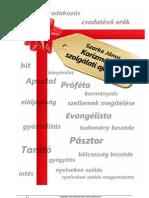 Karizmák és szolgálati ajándékok 2.