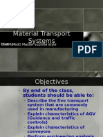 Material Transport Systems