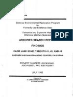 Cadiz Lake Bombing Range No. 1-4
