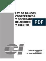 Ley de Bancos Cooperativos y Sociedades de Ahorro y Credito