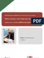 Mobiles Lernen-trendmonitor 2012 i