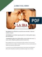 LA IRA Y EL ODIO