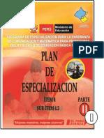 Plan de Especializacion(i Parte)