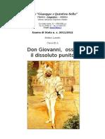 Tesina sul Don Giovanni