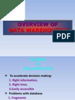 intro to data warehousing