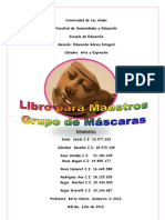 Libro para Maestros.Grupo Máscaras.F.