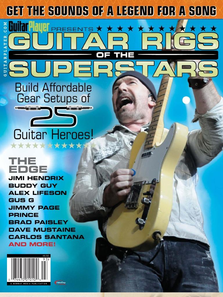 GP Guitar Rigs of the Superstars | Audio Electronics | Guitars