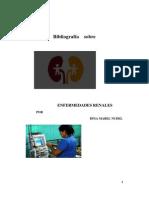 Bibliografía sobre Enfermedades renales