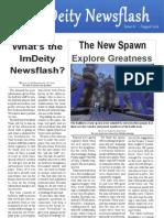 Imdeity Newsflash #1