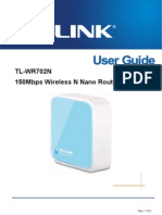 TL-WR702N User Guide