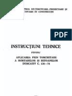 TORCRETARE C 130-78_BC 8-1979