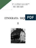 Etnografia Shqiptare II - Sektori i kulturës materiale