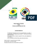 Issf Regulamento Geral Item 6 regulamento de alvos e tamanhos de alvos