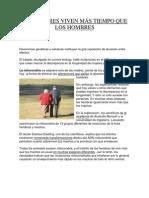 Luis Guillermo angel Restrepo:las mujeres viven mas tiempo que los hombres
