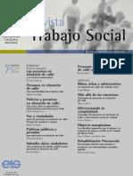 revista trabajo social puc chile nº 75