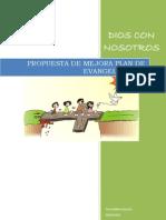 Propuesta Plan Iglesia Dios Con Nosotros