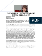 5 22 11 Banksters Pranksters Hell Holes