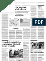 04.08.2012 Se Retrasa Obra de Parqueo Subte en Miraflores