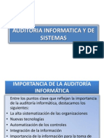 Auditoria Informaticay de Sisemas