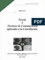 Teoria y Tecnicas de Comunicacion Aplicadas a La Conciliacion