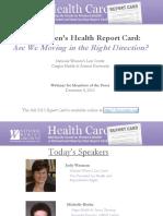 2010 Report Card Press Webinar_FINAL