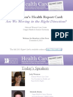 2010 Report Card Press Webinar_FINAL