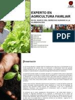Experto en Agricultura Familiar - CIESI.org