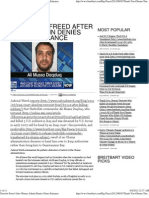 Terrorist Freed After Obama Admin Denies Gitmo Entrance