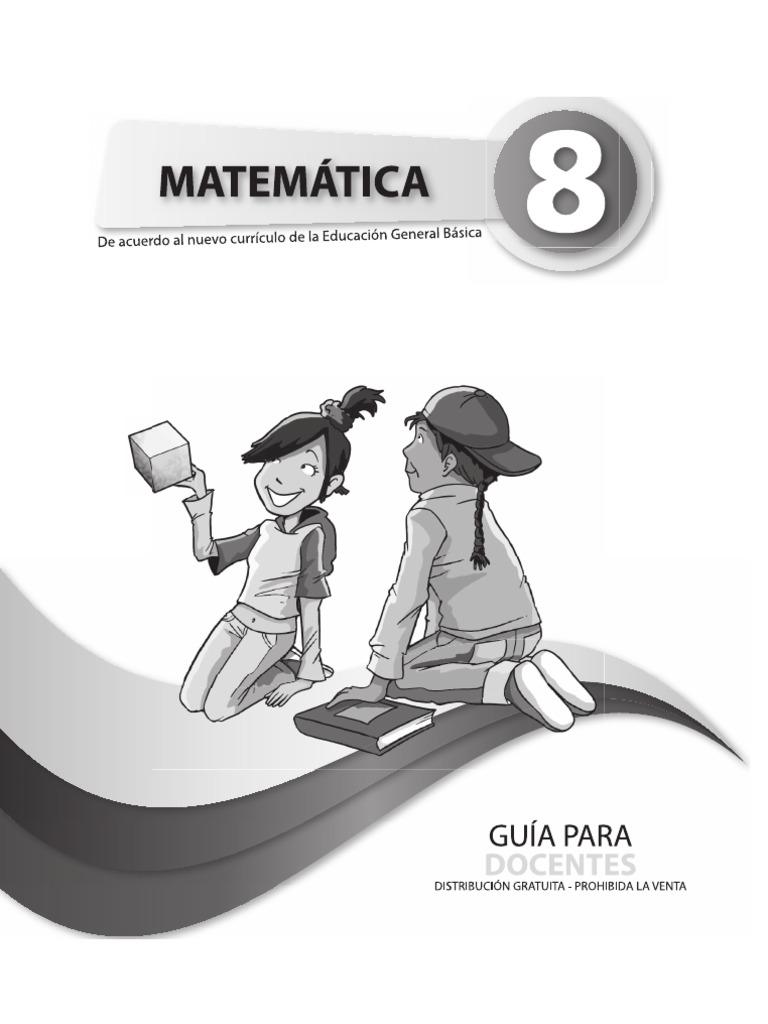 Guia Matematica Octavo Ano