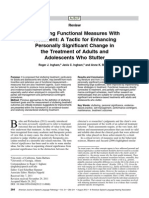 Integrating Functional Measures With Treatment