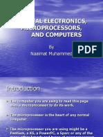 Digital Electronics, Microprocessors