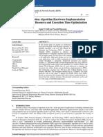 AES Encryption Algorithm Hardware Implementation  Architecture