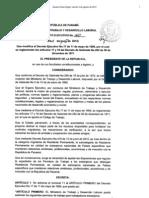 Decreto Ejecutivo 140 Del 2 de Agosto 2012